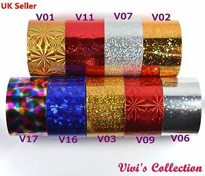 1m-4cm-Nail-Art-Space-Foil-Transfer-Paper-Nail-Tips-Glitter-Decal-Decoration