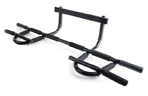New ProSource Heavy-Duty Easy Gym Doorway Chin-Up/Pull-Up Bar 12-Grips