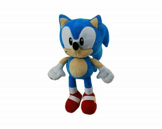 Sonic The Hedgehog SEGA Plush Soft Toy With Official License 28cm fast shipping