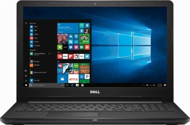 Dell 15.6'' HD LED Laptop,AMD A6-9200/4GB RAM/500GB HHD/WIN10-BLACK