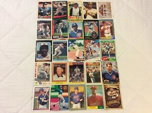 HALL-OF-FAME-Baseball-Card-Lot-1975-2020-HANK-AARON-ROBERTO-CLEMENTE-MIKE-PIAZZA