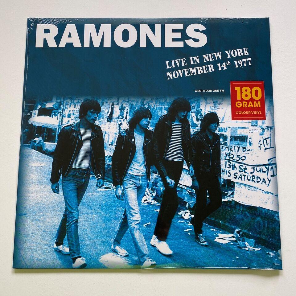 LP, Ramones, 2 farvet vinyler