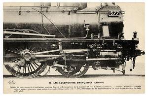 Railway-Postcard-P03105-Carte-Postale-Locomotives-Francaises-P-L-M-Orleans