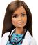 miniature 4 - Barbie🌟Pet Vet Doll🌟Brunette,Wearing Career Pet-print Dress with kitty Patient
