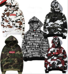 official photos c11ff 9c504 Image is loading 2017-SS-Supreme-Snow-Red-Camo-Box-Logo-