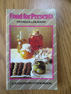 Vintage Cook Book FOOD FOR PRESENTS Sainsbury Recipes Cooking Patricia Lousada