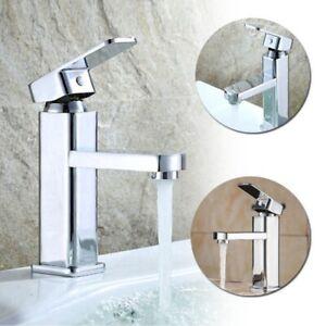Détails sur Robinet salle de bains comptoir mitigeur lavabo cuisine simple  levier Design
