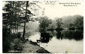 West brighton staten island ny martlings pond postcard for 100 richmond terrace staten island ny 10301