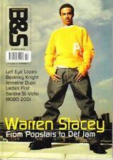 Warren Stacey on Blues & Soul Magazine Cover 2001      Lisa Left Eye Lopes