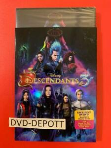 Descendants-3-DVD-amp-Slipcover-AUTHENTIC-W-DISNEY-REWARDS-READ-LISTING-New