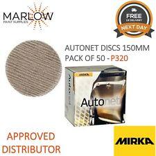 50 per Pack MIRKA Autonet Discs Grit P240-150mm