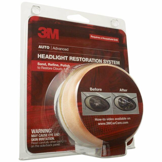 3M 39008 Headlight Lens Restoration System Kit