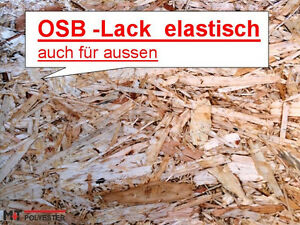 1000 ml elastic osb lack holzlack holz beschichtung auch aussen versiegelung ebay. Black Bedroom Furniture Sets. Home Design Ideas