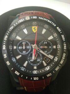 Men S Scuderia Ferrari Chronograph Watch 830045 0830045 Ebay