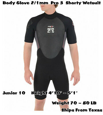 Body Glove Juniors Pro 3 Spring Wetsuit