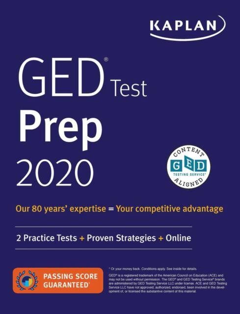 GED Test Prep 2020: 2 Practice Tests + Proven Strategies + Online (Paperback or