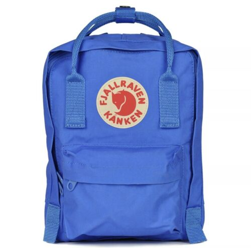 Fjall Raven Unisex Kanken Mini Classic Backpack ////  UN Blue