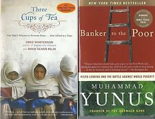 2 Books on Making the World a Better Place: 3 Cups of Tea & Banker to the Poor