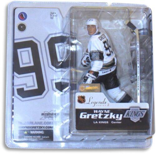 Wayne Gretzky McFarlane Legends Series 2 Figure Los Angeles Kings White Jersey