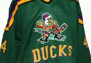 Image is loading FULTON-REED-44-MIGHTY-DUCKS-HOCKEY-JERSEY-SEWN- 180784f0e8e