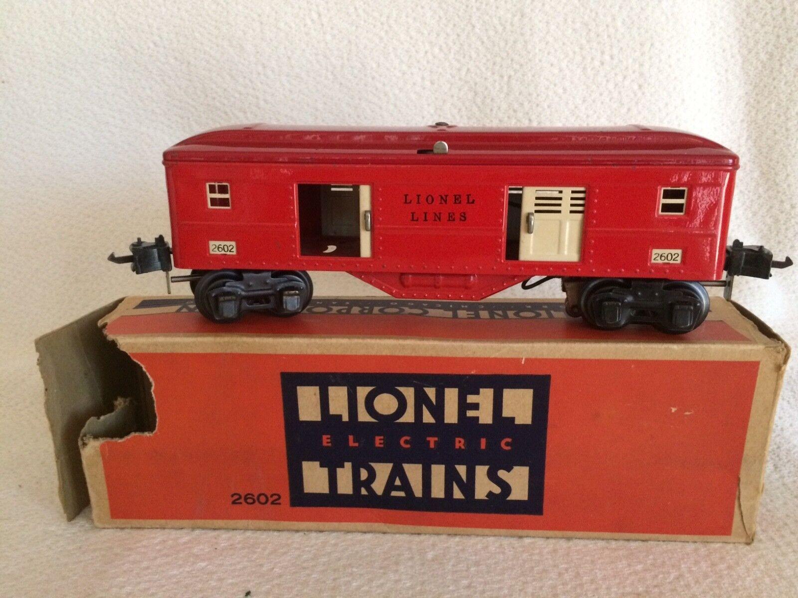 Lionel 1938 borsagage auto 0  2602