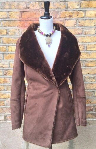 Coat Eu Womens Faux 16 Uk 44 Next Size Sheepskin 4ztaqa