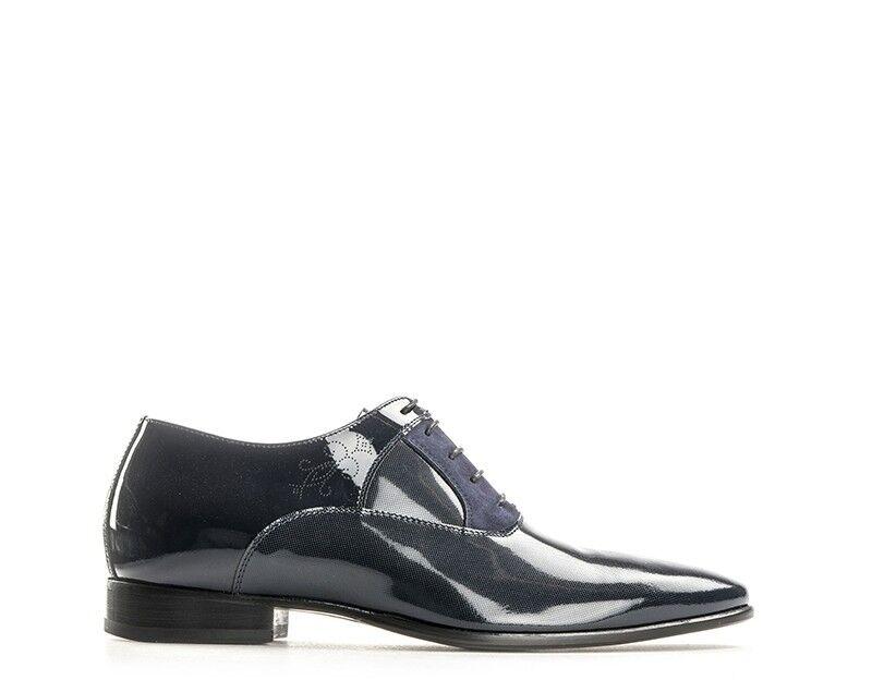 Schuhe CARLO PIGNATELLI Mann ARMENIA Blau Lack - Optik,Naturleder 7931ARB   | Ausgezeichnete Qualität