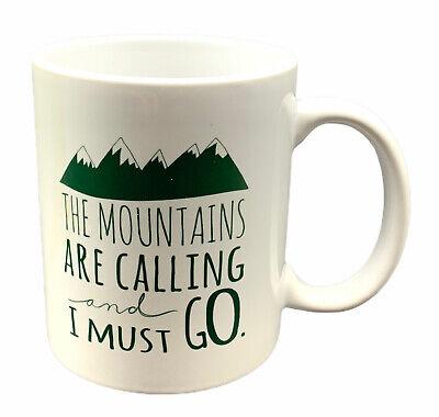 The Mountains Are Calling And I Must Go Mug Mug278 Camping Mug Cabin Mug Hiking