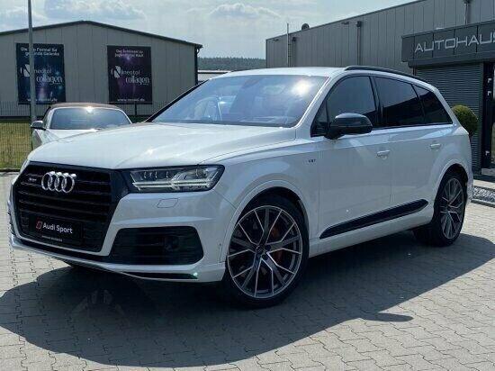 Audi SQ7 4,0 TDi quattro Tiptr. 7prs 5d