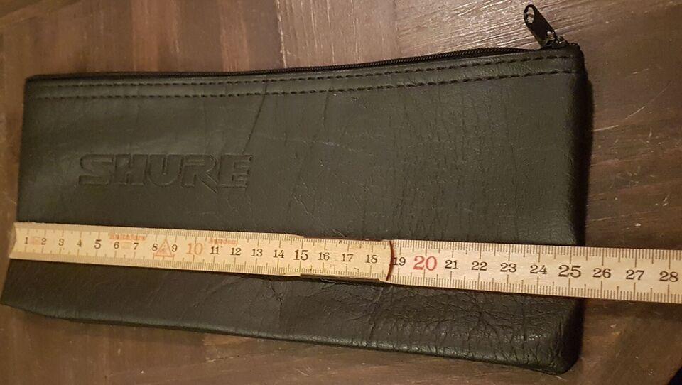 Lille taske til musik udstyr, Shure Ukendt