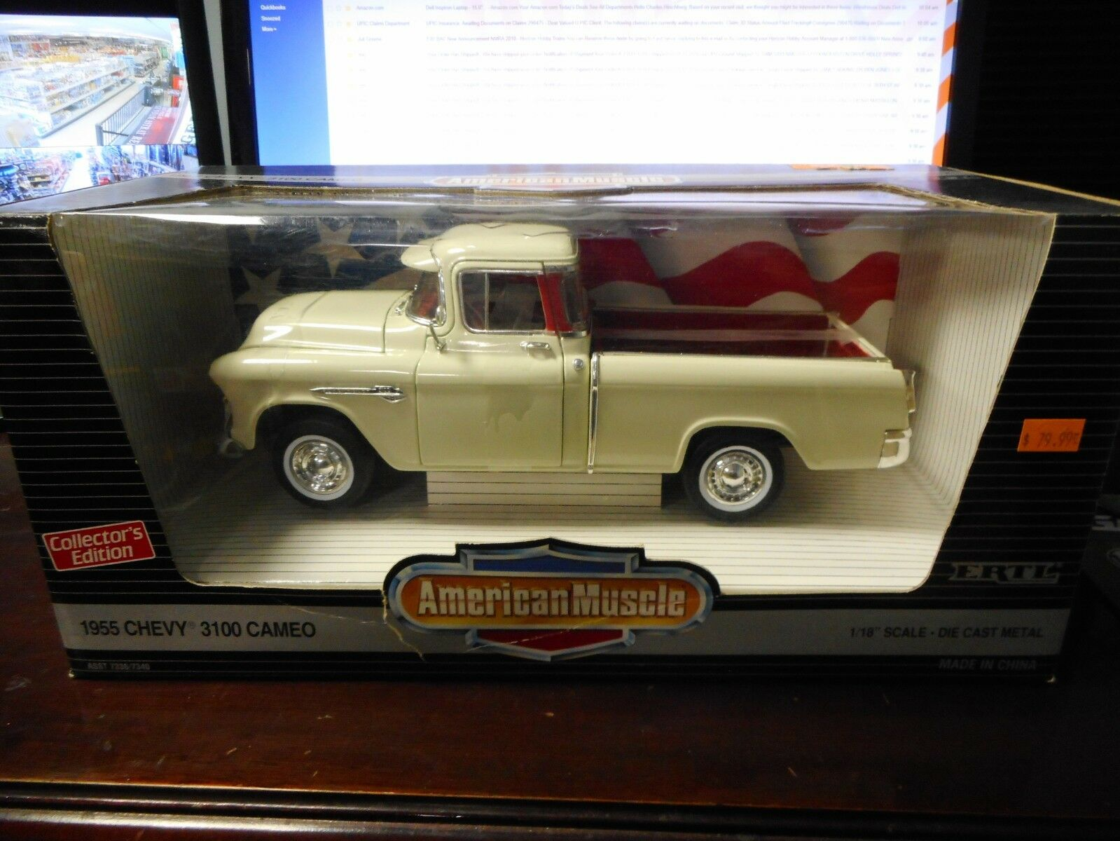 American Muscle - 1955 Chevy 3100 Cameo (1 18)