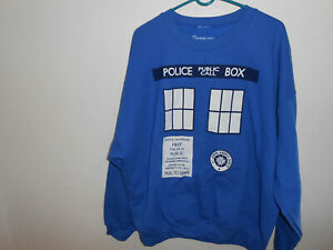 Police Public Call Box Sweat-Shirt Doctor Who