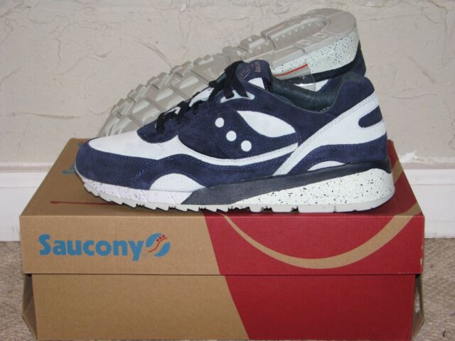 5212799b7229 Bait x Saucony Shadow 6000 Cruel World 5 Navy Blue Mens Size 10 DS NEW!