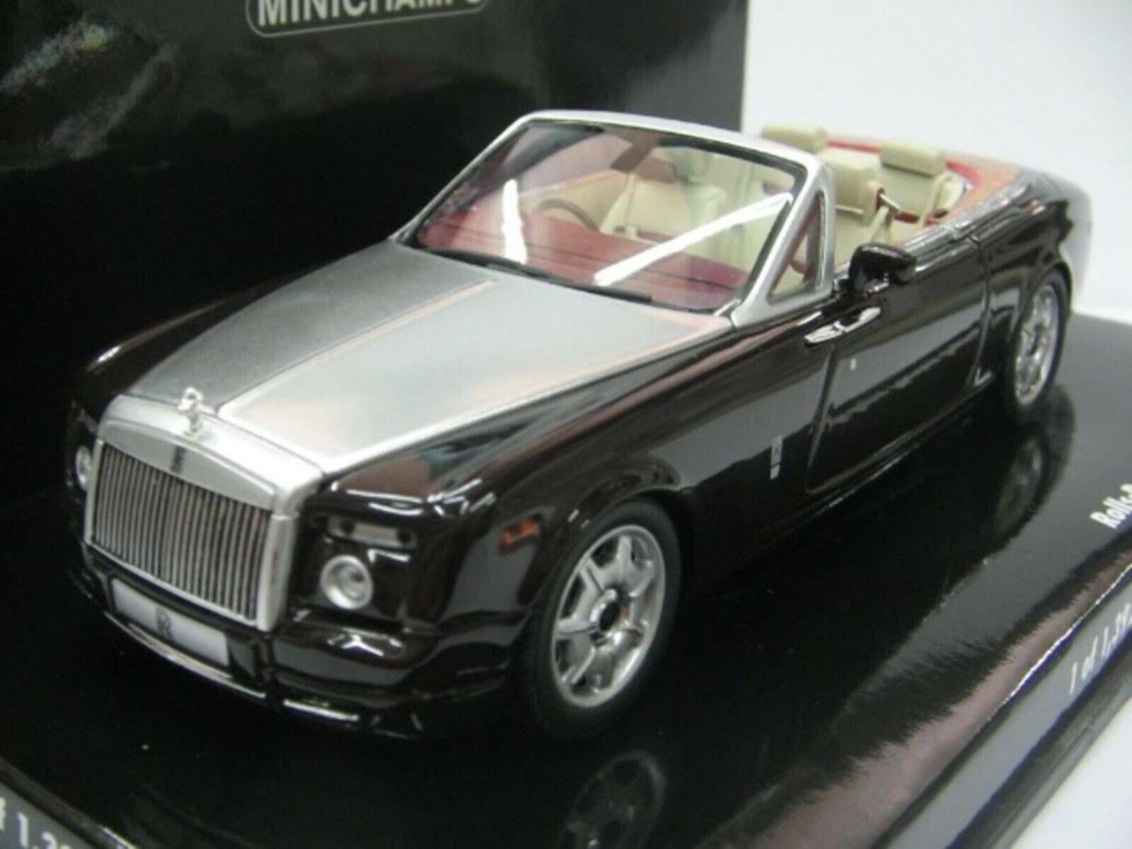 Wow extrêmement rare Rolls-Royce Phantom drophead coupé 2007 marron 1 43 Minichamps