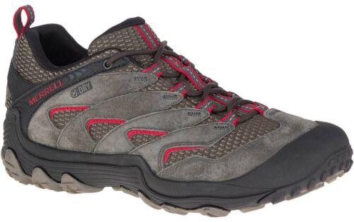 Grey Merrell Chameleon 7 Limit Waterproof Mens Walking Shoes