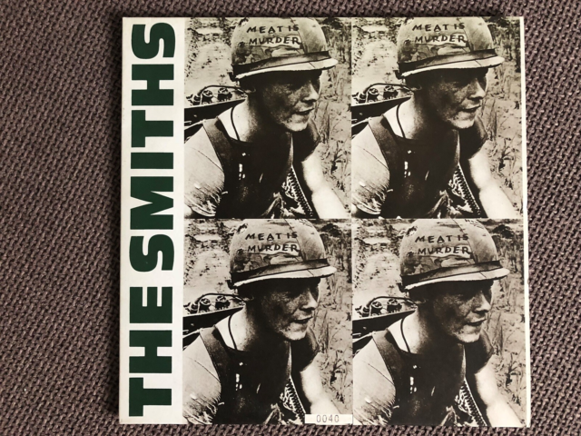 LP, The Smiths, Meat Is Murder, Rock, Label: WEA – SMITHS…