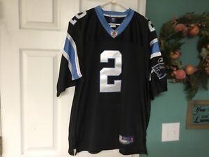 Details about Reebok Carolina Panthers Jersey -#2 Jimmy Clausen SEWN Size 50 (CON14)