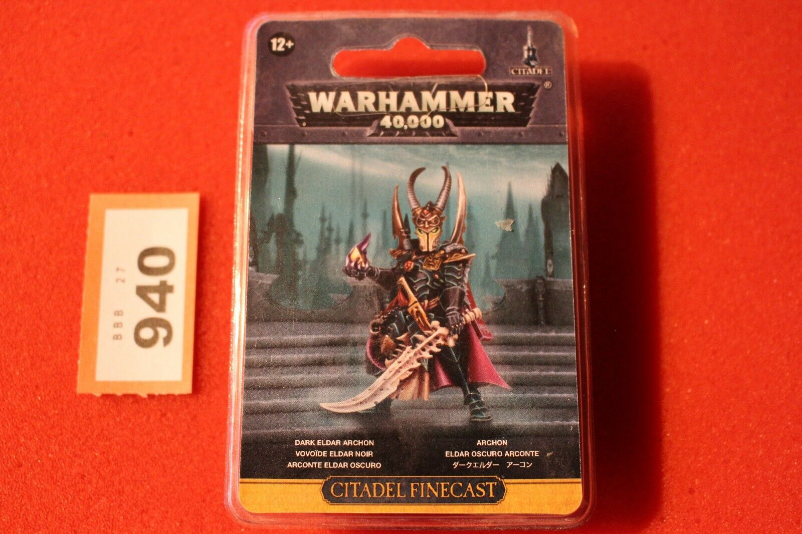 giocos lavoronegozio WARHAMMER 40K Dark Eldar Arconte Finecast  nuovo NUOVO con scatola fuori catalogo GW WH40K  il più alla moda