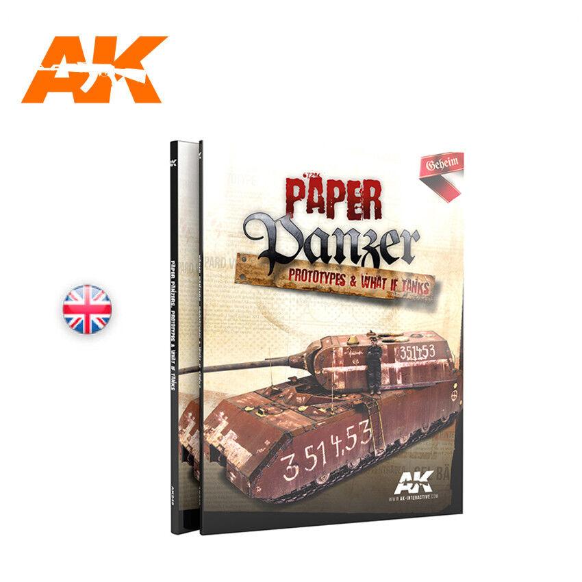 AK Books 246 Paper Panzer, predotypes & What if Tanks