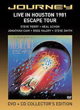 Journey - Live in Houston 1981: Escape Tour (DVD, 2005, 2-Disc Set, Includes CD)