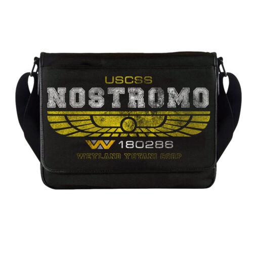 Aliens USCSS Nostromo Crew Member Messenger Bag Xenomorph LV426 Hadleys Hope