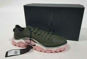 Details about ADIDAS Raf Simons Green Pink Detroit Runner Sneakers Shoes size 7