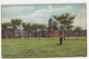 USA Charleston SC The William Enston Home Postcard A808 - Malvern, United Kingdom - USA Charleston SC The William Enston Home Postcard A808 - Malvern, United Kingdom