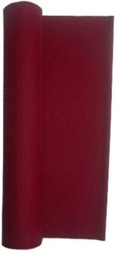 Wine 21 Ounce Pool Table - Billiard Cloth - Felt Also for Poker Tables