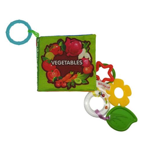 helle Farben Sound Papier Design  Baby weiches Tuch Buch  Lernspielzeug