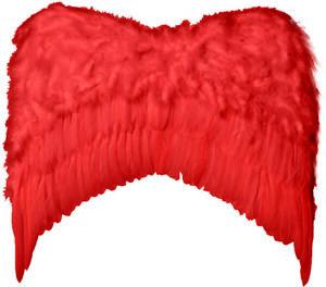 Diplomatique Grandes Ailes Plumes Rouges Déguisement Femme Homme Démon Diable Halloween Neuf