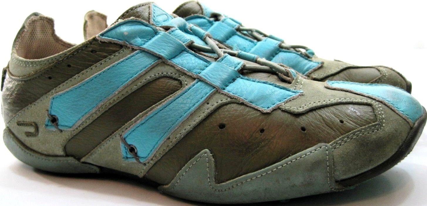 Diesel 10 Damens Athletic Schuhes Größe 10 Diesel Euro 41 Gray Blau Style 102100016987 19181e