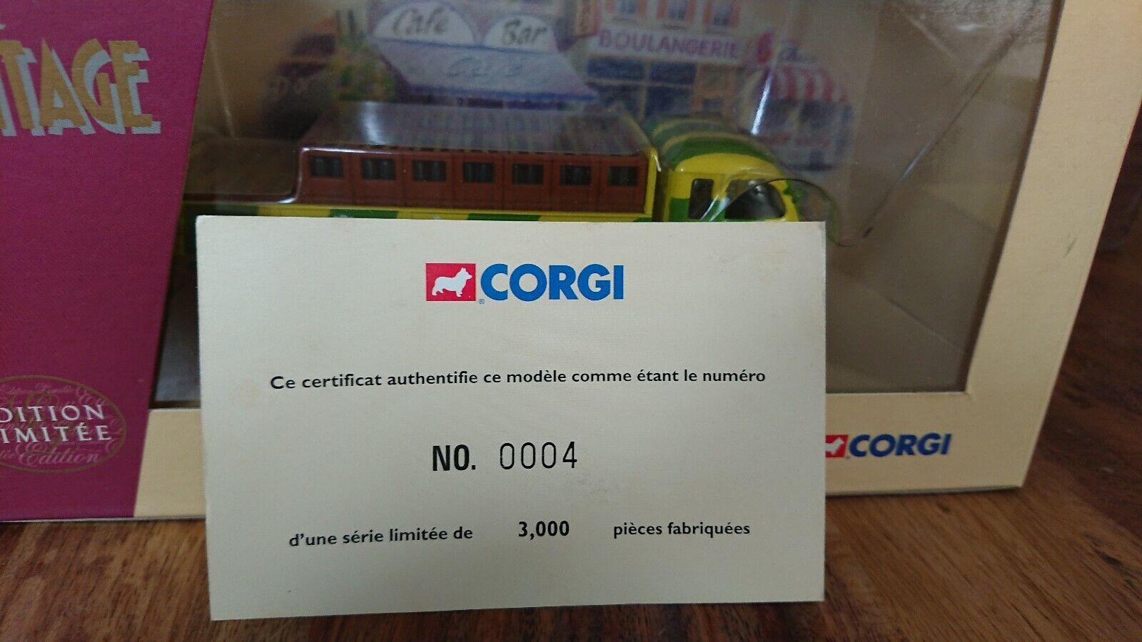 Corgi 71106 Saviem Bransseur PERRIER Ltd Edit. No. 0004 of of of 3000 413ba7