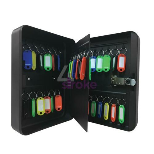 COMBINATION LOCK KEY SAFE STORAGE BOX CABINET 36 HOOKS WALL MOUNTED