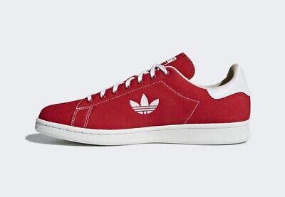 Authentic Adidas Originals Stan Smith Trefoil ® (Hommes Taille UK 8 11) RougeBlanc | eBay